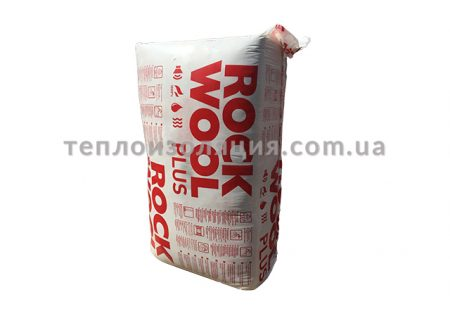 Утеплювач rockmin plus ROCKWOOL