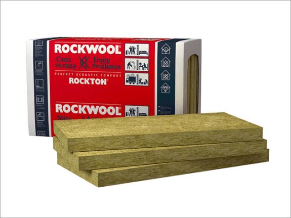 rockwool - rockton шумоизоляция утеплитель
