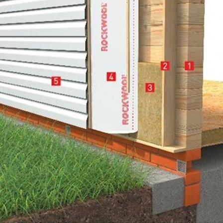 Теплоизоляция стен с сайдингом