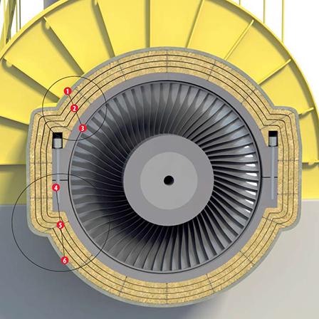 Звукоизоляция паровой турбины