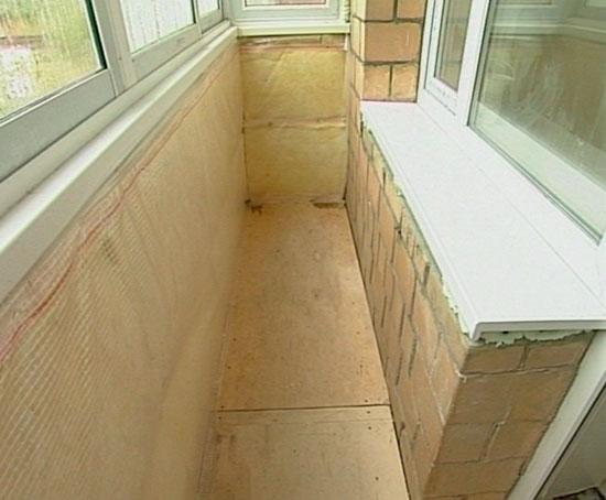 Как утеплить балкон базальтовой ватой