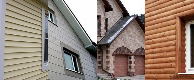 материалы отделки вентилируемого фасада