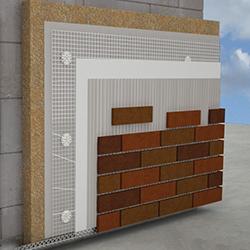 Фасадный утеплитель Роквул под приклейку плитки
