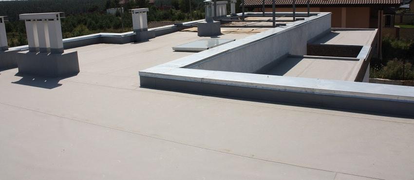 утепление плоской неэксплуатируемой крыши