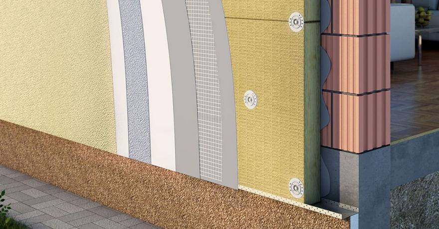 Особенности утепления штукатурного фасада
