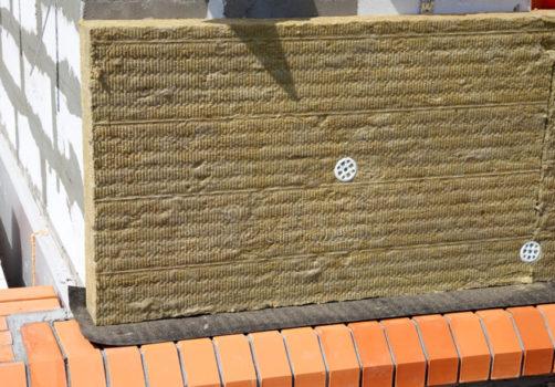 Утепление кирпичного дома минеральной ватой