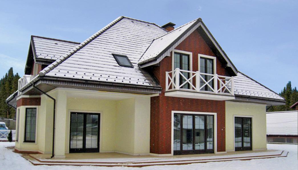 Утеплитель для частного дома FRONTROCK 35