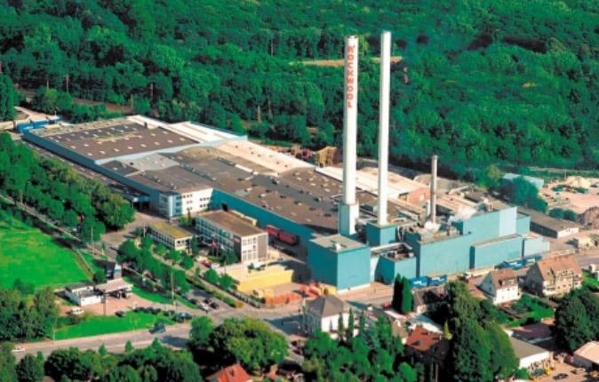 завод rockwool в Германии 1954 год