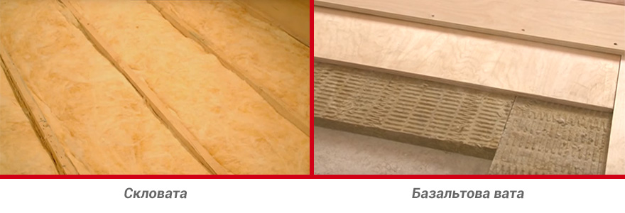 мінеральна вата для утеплення підлоги