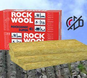 Новинка на ринку України від компанії ROCKWOOL – ROCKSONIC SUPER