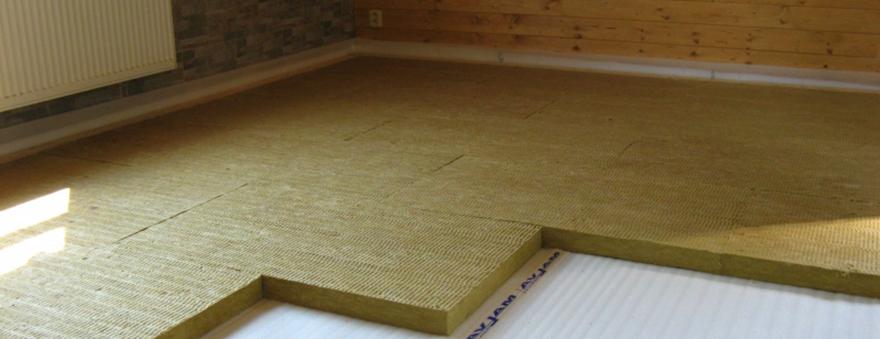 мінеральна вата для підлоги