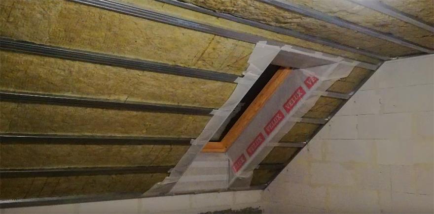 rockroll недорогий утеплювач для даху