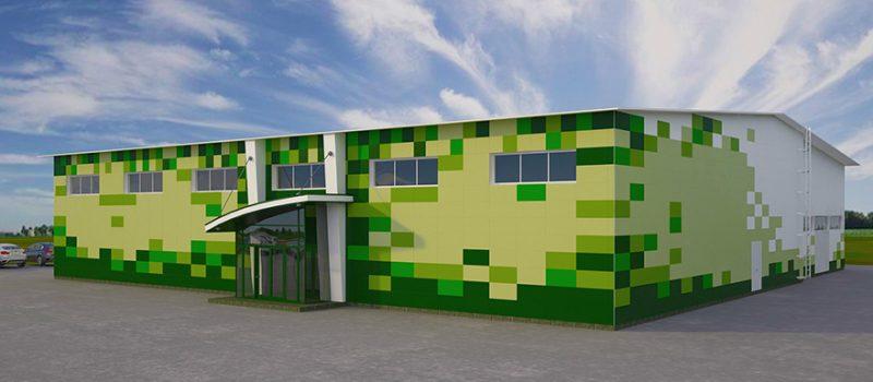 красивий вентильований фасад