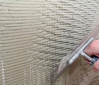 армирующий слой фасад