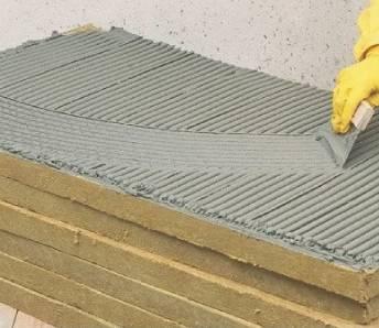 монтаж базальтовой ваты для фасад